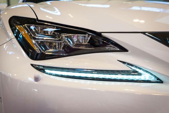 Lexus RC lights
