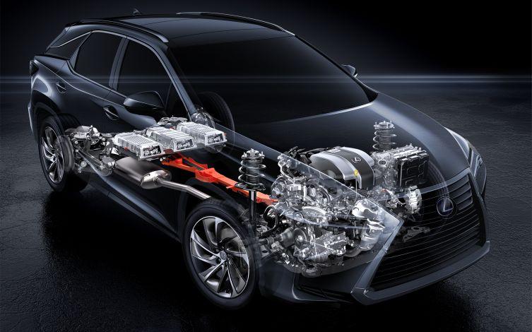 Lexus RX suspension 03