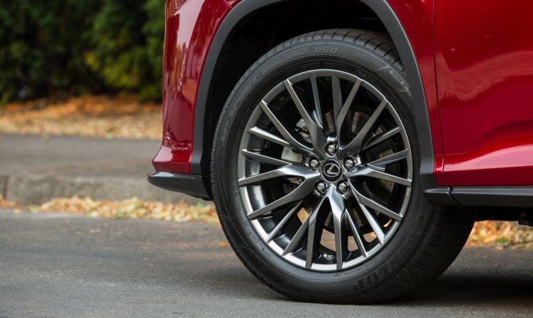 Lexus RX suspension 04