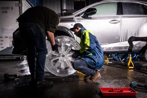 Building the Ice-Tyre Lexus NX
