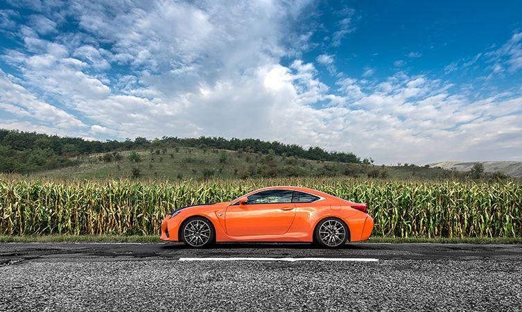 Lexus RC F Carbon in Romania 02