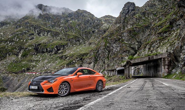 Lexus RC F Carbon in Romania 03