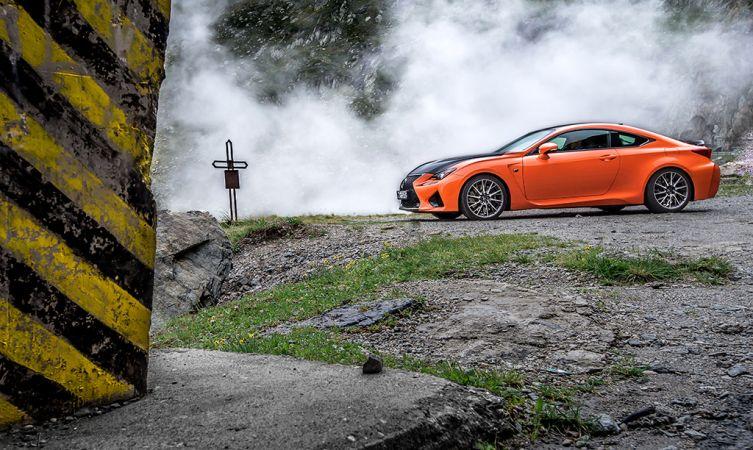 Lexus RC F Carbon in Romania 04