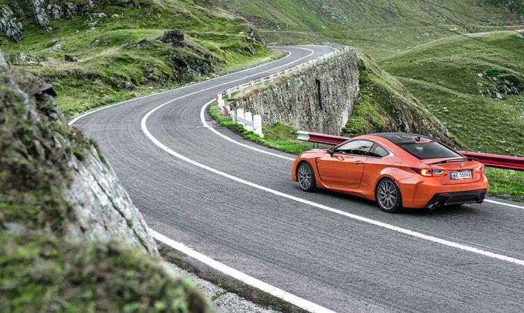 Lexus RC F Carbon in Romania 11