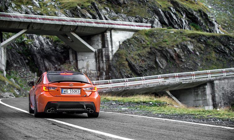 Lexus RC F Carbon in Romania 12