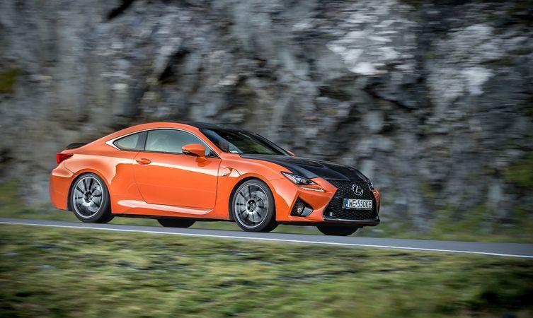 Lexus RC F Carbon in Romania 13