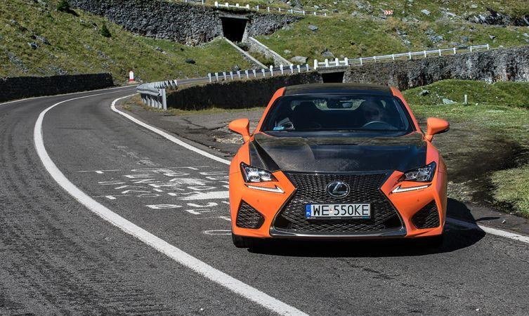 Lexus RC F Carbon in Romania 17