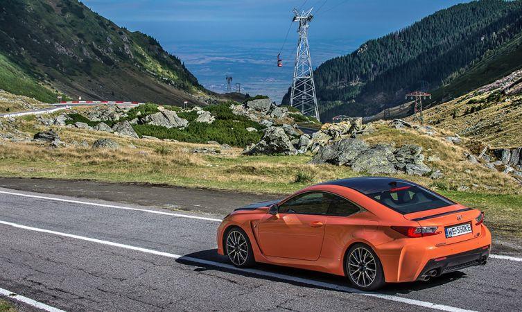 Lexus RC F Carbon in Romania 18