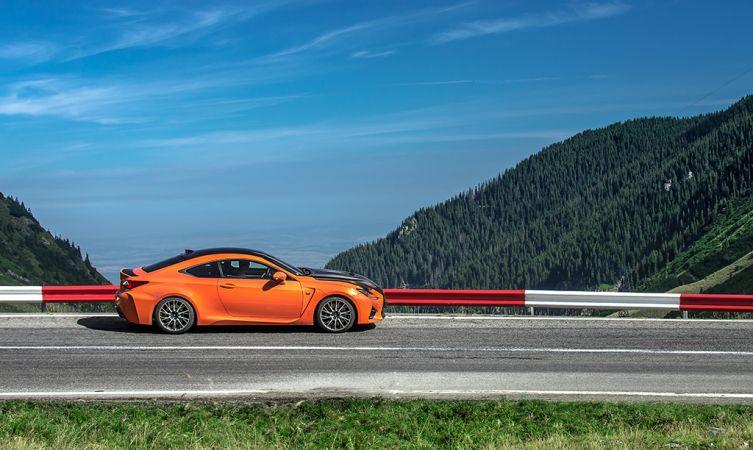 Lexus RC F Carbon in Romania 19