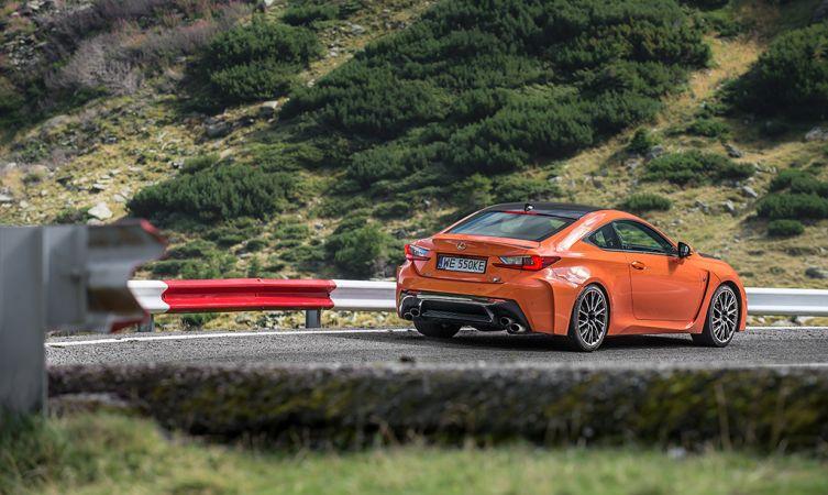 Lexus RC F Carbon in Romania 20