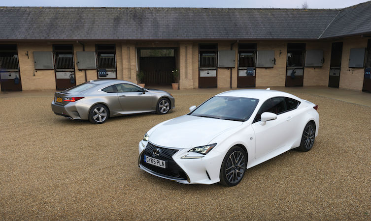 Lexus RC 200t and RC 300h