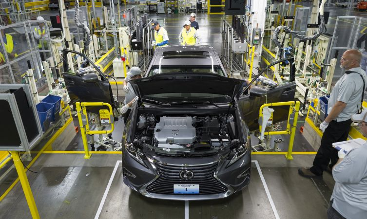 Where are Lexus cars made: Georgetown, Kentucky, USA Monday October 5, 2015 Photo by Joseph Rey Au