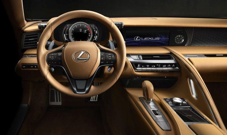 Lexus LC 500 interior 03