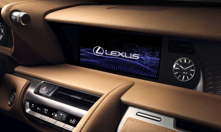 Lexus LC 500 interior 06