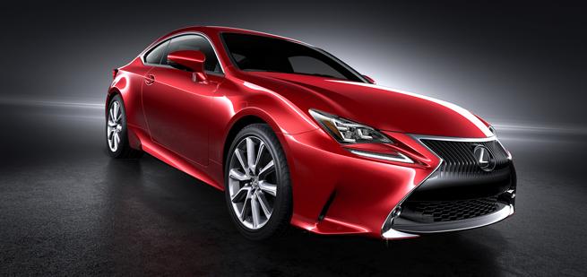 Lexus RC Sonic Red