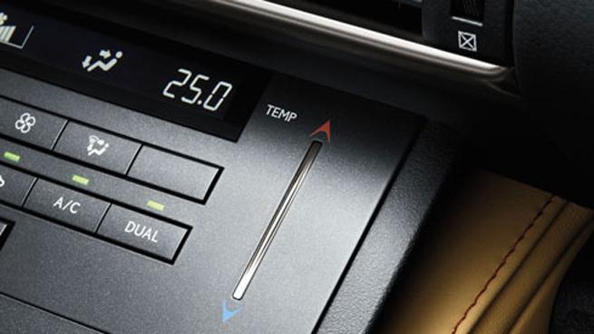 Lexus RC electrostatic switches