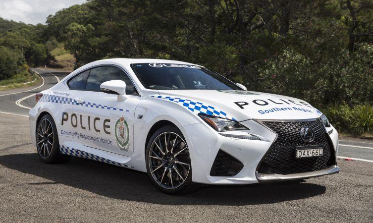 Aussie RC F police 01