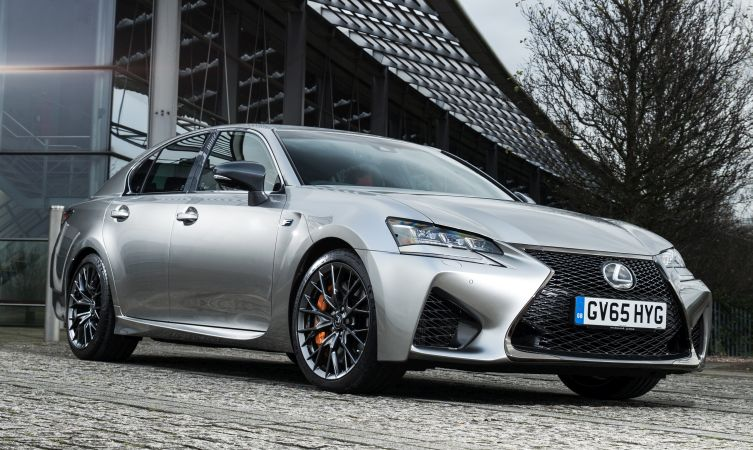 Lexus GS F exterior