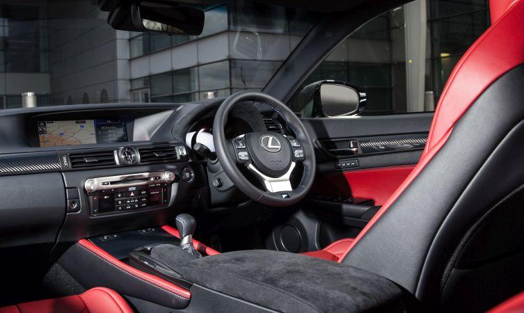 Lexus GS F interior