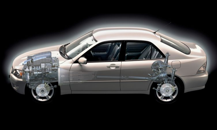 Lexus transmissions IS 200