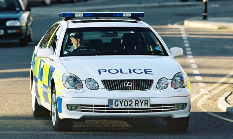 UK GS 430 police