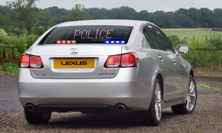 UK GS 450h police 01