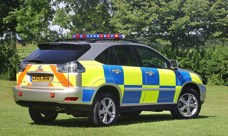 UK RX 400h police 01