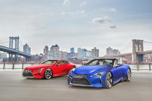 Lexus LC500 and LC 500h