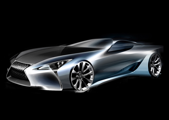 LF-LC concept car