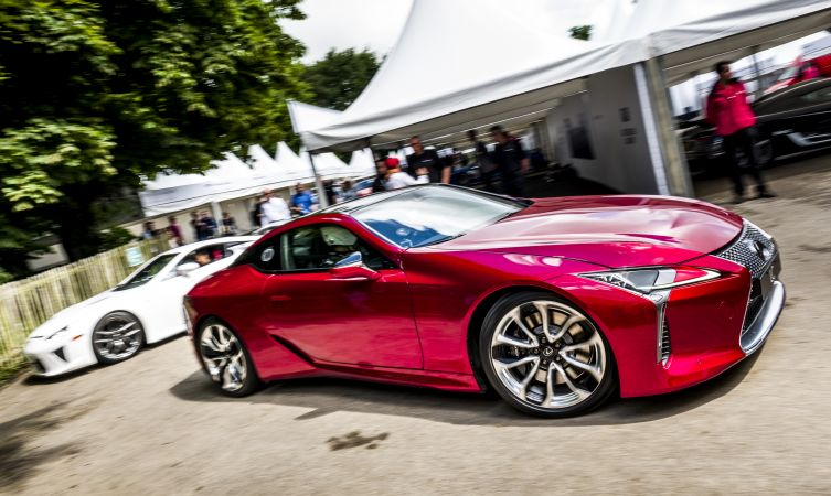 LC 500 at Goodwood
