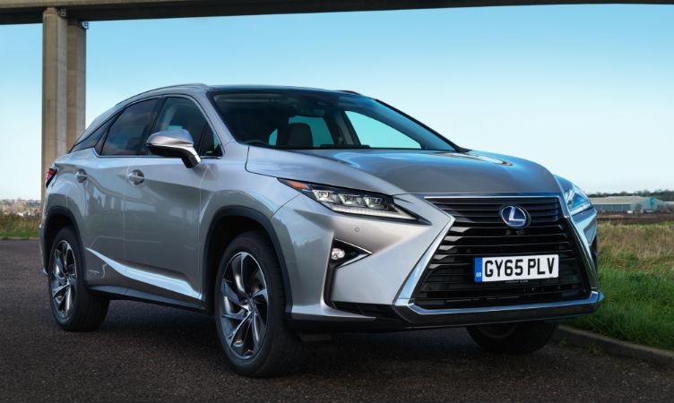 RX Lexus UK sales