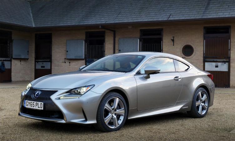 Lexus UK sales
