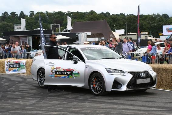 Lexus GS F Course Car at Carfest