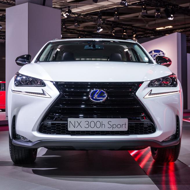 Lexus NX Sport at Paris motor show