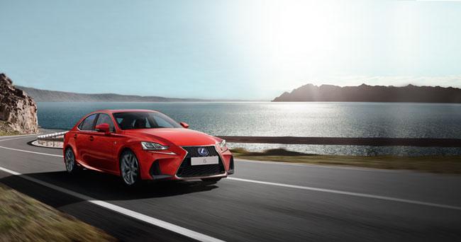 Lexus IS petrol-electric hybrid