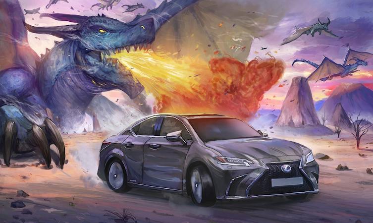 Lexus ES mana