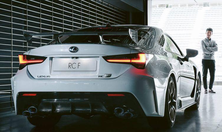 RC F Track Edition