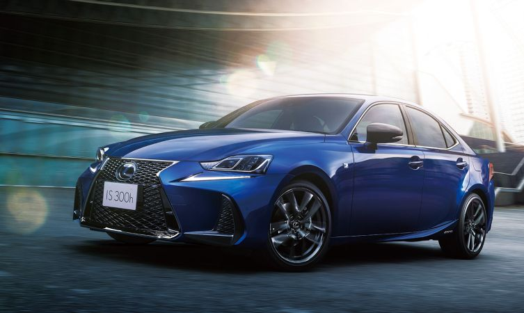 Lexus IS F Sport I Blue