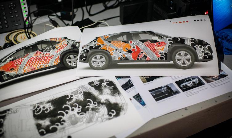 Tattoo Car design