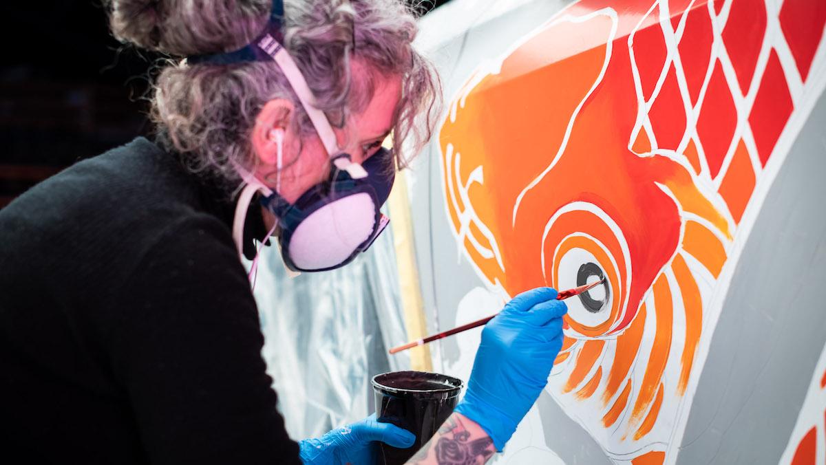 Tattoo Car paint