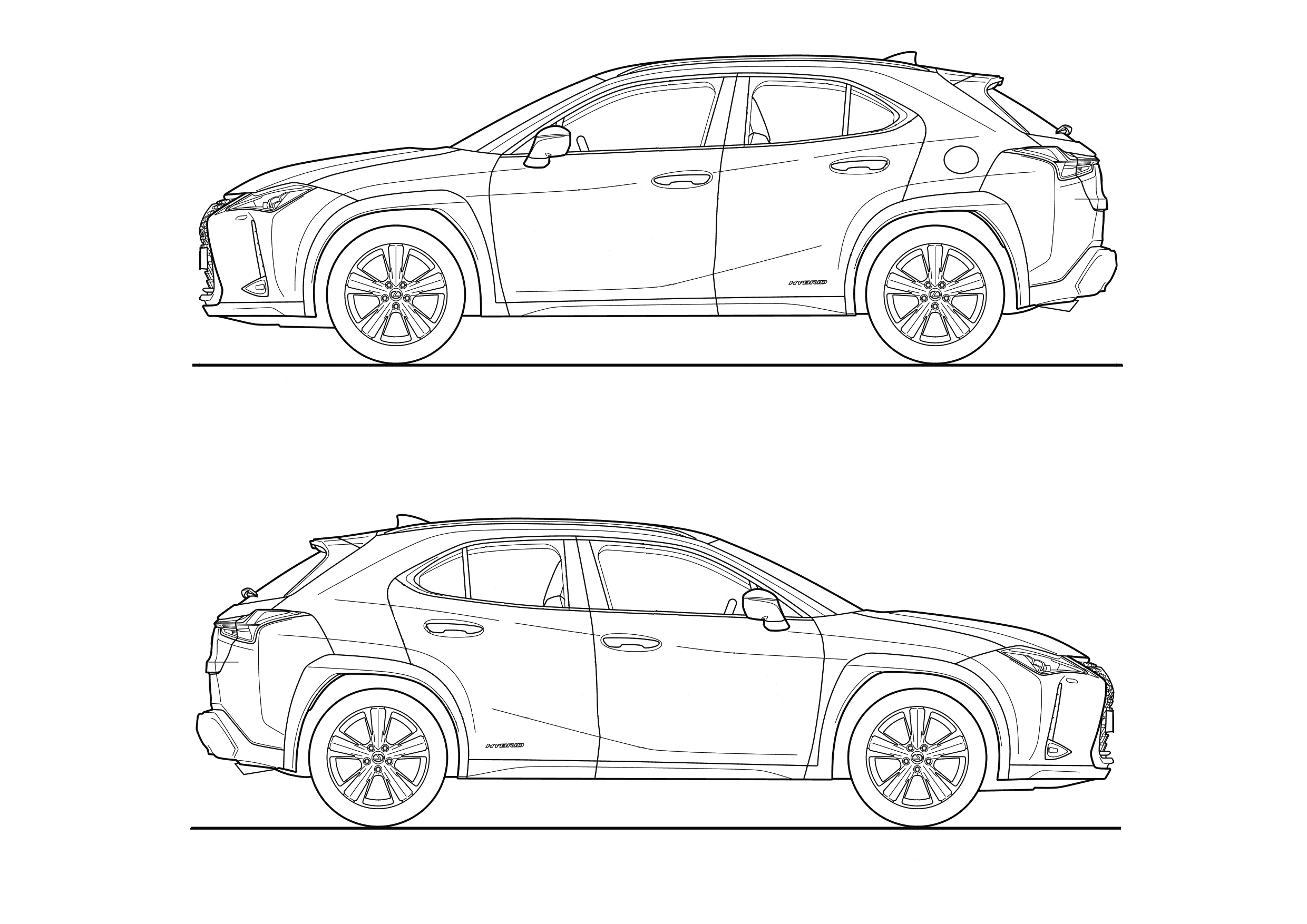 Design your own tattooed car