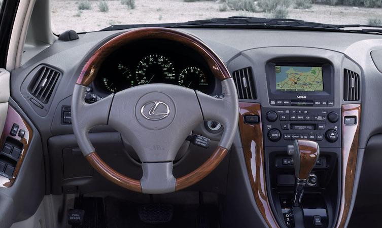 RX 300 interior