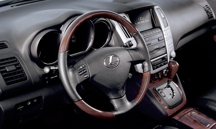 RX 400 interior
