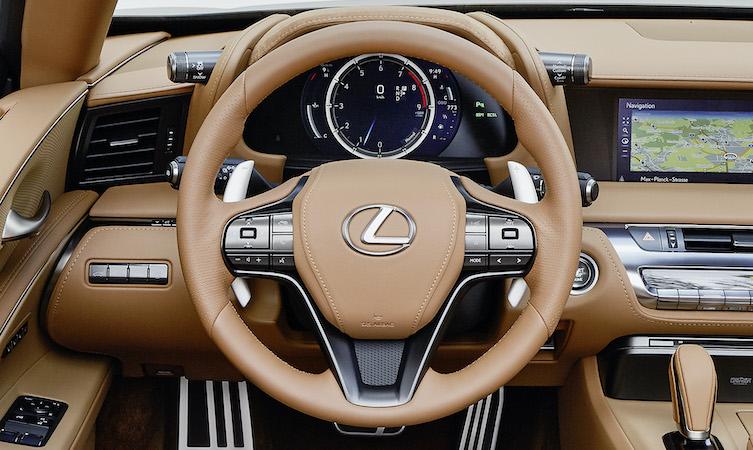 Lexus LC Steering wheel