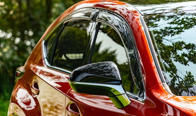Lexus NX Accessories – deflectors