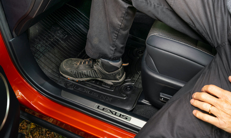 Lexus NX Accessories floor mats