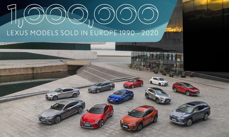 one million Lexus