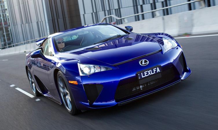 Lexus LFA supercar
