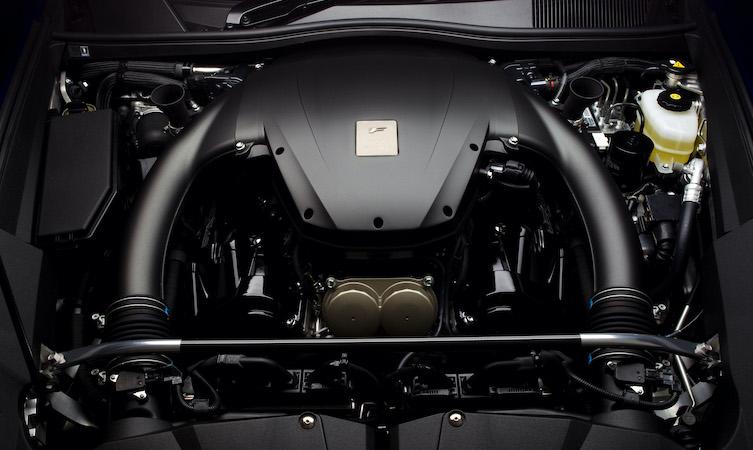 Lexus LFA 4.8 litre V10 engine