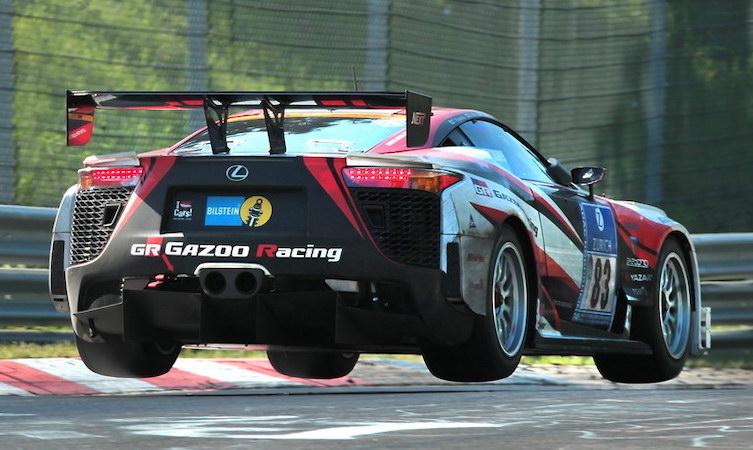 Lexus LFA images, Nurburgring